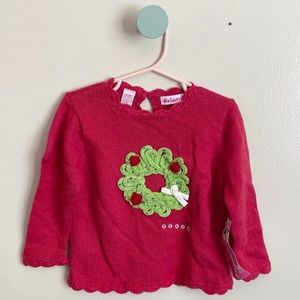 Red Knit Christmas Sweater